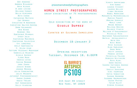womens street photography exhibition
